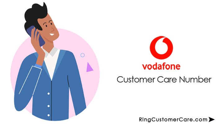 vodafone customer care number toll free