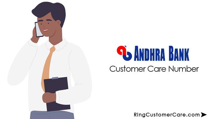 andhra bank customer care number