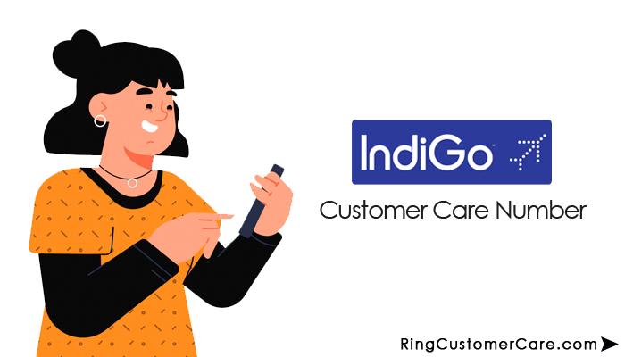 indigo customer care number'