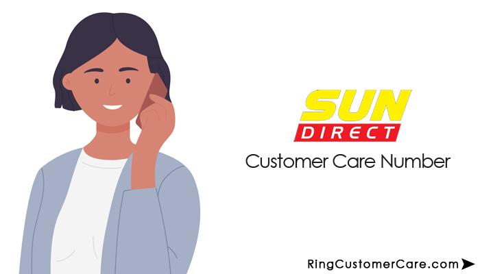 sun direct customer care number