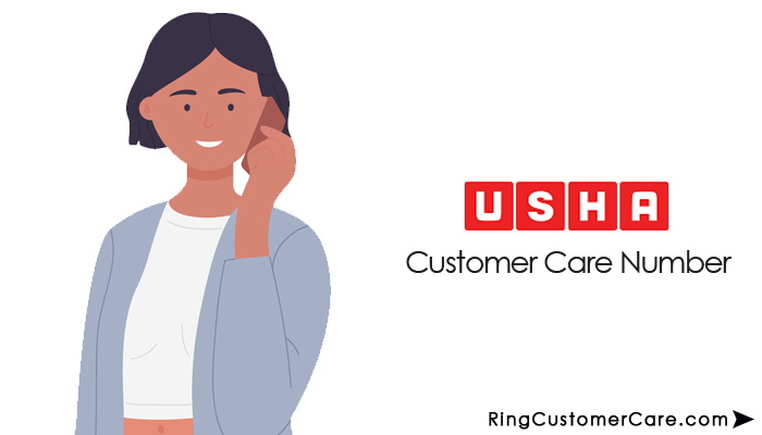 usha customer care number