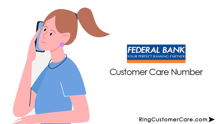 federal bank customer care number